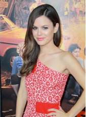 "Unique Rachel Bilson 22"" Long Side Bangs Deep Wave Monofilament Top 100% Human Hair Wigs"