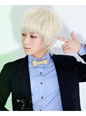 Discount Korea Hairstyle Handsome Cosplay Wig About 8 Inches