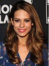 Ombre Brown Lyndsy Fonseca Long Deep Wave Lace Front Human Hair Prom Wigs