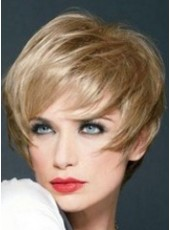 High Quality Joan Collins Chloe 100% Indian Remy Hair Capless Wig About 10 Inches