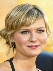 Top Quality Kirsten Dunst Short Loose Wave Ombre Mix Color Hairstyle Indian Virgin Hair Wigs