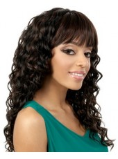 Amazing Hairstyle Synthetic Curly Capless Wigs About 22 Inches
