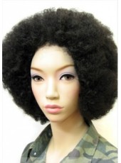 150% Hair Density Popular Short Curly Full Lace 100% African American Hairstyle Wigs About 8 Inches