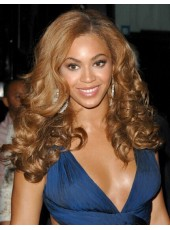 High Quality Beyonce Hairstyle 180% Density Human Hair Full Lace Wigs