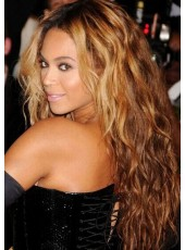 Beyonce  Long Boday Wavy Ombra Full Lace Cap  100% Human Hair Wigs About 24 Inches