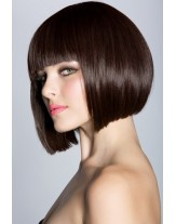 Top Quality Short Straight Bob Wig 100% Indian Human Hair Capless Wig About 10 Inches