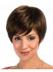 Fantastic and Awesome Classic Bob Cut Hairstyle Human Hair Wigs About 8 Inches