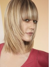 Charming Best Quality Straight Hairstyle Human Hair Capless Wig About 14 Inches
