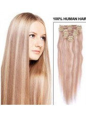 Charming Super Long Silky Straight 100% Remy Hair Clip In Hair Extension About 30 Inches