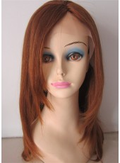 Charming Long Straight Hair Styling 100% Human hair Lace Front Wigs