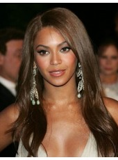 High Quality Beyonce Long Hairstyle  Lace Front Remy Human Hair Wigs