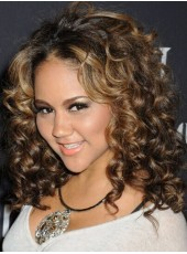 Beyonce Hairstyle 130% Density Ombre Color Human Hair Lace Front Wigs