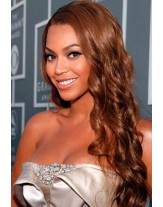 Beyonce Long Hairstyle Body Wavy Lace Front Cap  Human Hair  Wigs