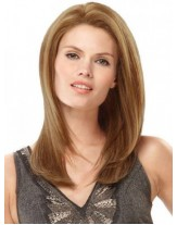 Super Soft Remy Hair Long Straight Synthetic Hair Lace Front Wigs