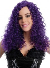 Very Sexy Party Hairstyle Heat Resistant  Lace Front  Wig About  22 Inches