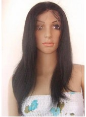 Classical Straight Hairstyle Popular Color Perfect Lace Front Wig About  22 Inches