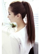 Tradition Style Long Straight  Charming Ponytail About  22 Inches