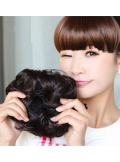 Lovey And High Quality Updo Chignon Big Fuffy Wrap