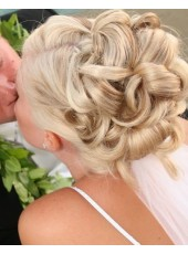 Bridesmaid Hairstyles Updo Wig Wraps