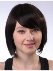 Charming Straight Bob Hairstyle Synthetic Hair Capless Wigs
