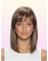 Straight Bob Hairstyle Synthetic Hair Capless Wigs For Black Women