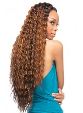 Charming Long Synthetic Hairstyle Quick Weave Lace Front Wigs About 28 Inches