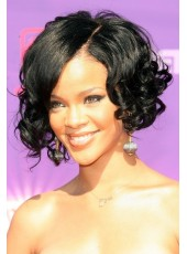 Top Quality Medium Newest Celebrity Hairstyle Full Lace Hair Wigs About 10 Inches