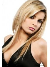 Charming Hairstyle Blonde Synthetic Lace Front Wigs About 20 Inches