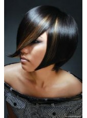 Super Sexy Chic Hairstyle Amazing Hair Cut Synthetic Capless Wig About  10 Inches