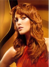 Top Quality Charming Hairstyle Synthetic Lace Front Wig About 20 Inches