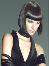 High Quality Charming Medium Hairstyle Soft Synthetic Capless Wig About 10 Inches