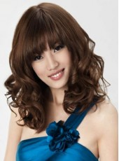 Custom New Arrival Hairstyle Synthetic Capless Wig About 18 Inches