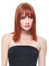 New Fashion Straight Hairstyle Synthetic Capless Wig About 16 Inches