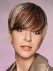 Custom New Arrival Straight Synthetic Hairstyle Capless Wig About 8 Inches