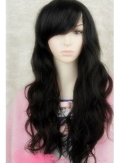 Best Selling Glamorous Long Wavy Synthetic Hair Man Made Wig About  24 Inches