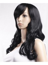 Popular Long Super Wavy  Capless  Synthetic Hair Wig About  22 Inches