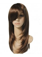 Soft Charming Hairstyle Heat Resistant Capless Wig About 18 Inches