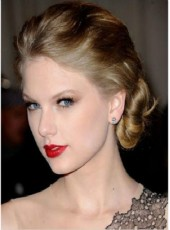 Custom Top Quality Glueless Lace Taylor Swift Short Eversion Loose Wave Soft Wigs