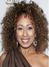 "Custom 150% Density African American Human Hair 18"" Curly Wigs For Black Women"