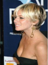 Fashion Short Ombre Blonde Bangs Hairstyle Capless 100% Indian Virgin Hair Wigs