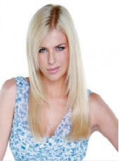 Super Attractive 100% Submissive Indian Human Hair Long Straight Top Quality Full Lace Wig About 22 Inches