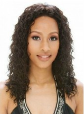 Classic Custom African American Celebrity Hairstyle 100% Synthetic Hair Lace Front Wig