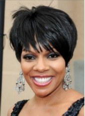 Custom Beautiful and Super Hot Heat Resistant Synthetic Wig Short Hairstyle About 8 Inches