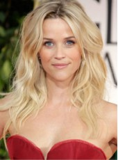 "Latest Reese Witherspoon 20"" Ombre Long Fuller Loose Wave Full Lace Human Hair Wigs"