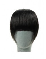 Natural Black Heat Resistant Long Charming Regular Hair Bangs