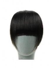 Natural Black Heat Resistant Long Charming Regular Hair Bangs
