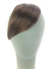 Brown Oblique Heat Resistant Hair Bangs