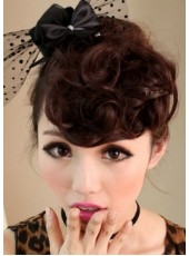 Beautiful Fashion Wavy Heat Resistant Bangs
