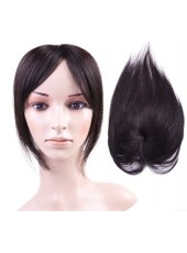100% Remy Human Hair Straight Head Top About 5 Inches