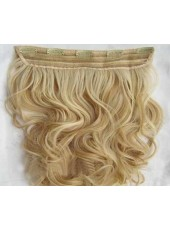 Fuller 16 Inches Wavy Clip In 1Piece Human Hair Extension
